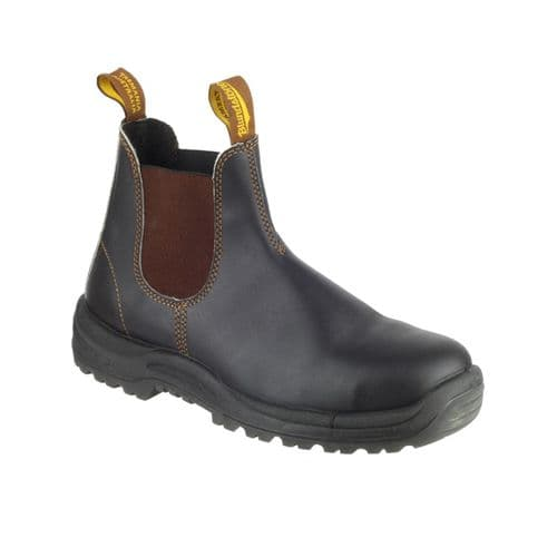 Blundstone 192 Dealers Safety Stout Brown